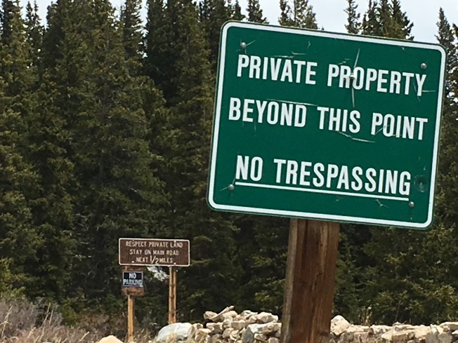 Respect Private Property